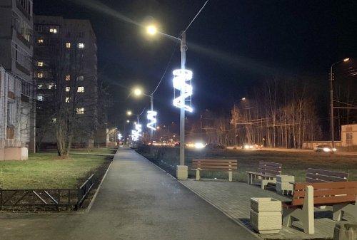 В Йошкар-Оле на пешеходной зоне улицы Дружбы появилось дополнительное освещение