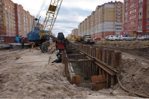 Стоимость километрового участка дороги по улице Петрова составит более 300 миллионов рублей