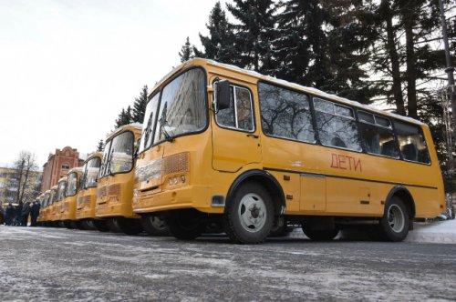 Шестнадцать новых автобусов отправились в школы районов Республики Марий Эл