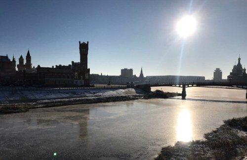 В Марий Эл толщина льда на реках составляет от 10 до 20 сантиметров
