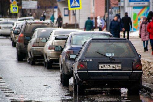 Остановку транспорта в центре Йошкар-Оле ограничивают в целях безопасности движения