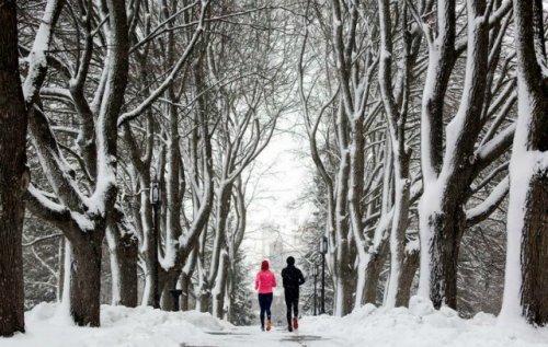 Любители бега в Йошкар-Оле запускают зимний челлендж «Горячий снежок»