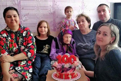 Жительница Марий Эл получила поздравление с юбилеем от Президента России