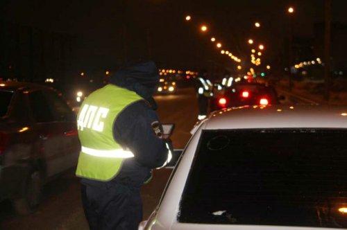 Сотрудники ГИБДД в результате погони задержали нетрезвого водителя