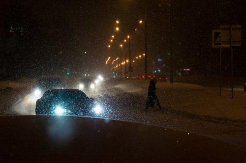На территории Чувашии и Татарстана из-за метели ограничено движение на федеральных трассах