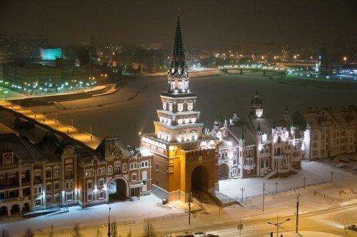 Йошкар-Ола попала на портал с обзорными видеокамерами из городов России