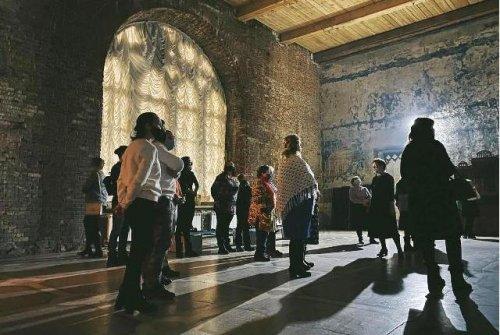 Замок Шереметева провёл ночную интерактивную экскурсию для жителей райцентра