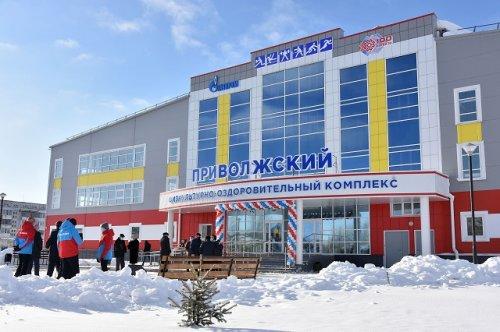 В Марий Эл открыт новый физкультурно-оздоровительный комплекс «Приволжский»
