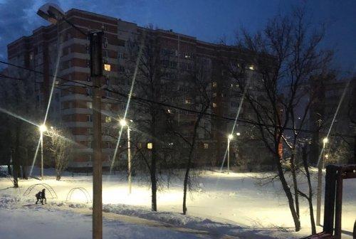 Стадион школы №16 города Йошкар-Олы преобразился с помощью светодиодных светильников