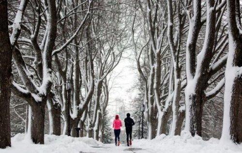 Снегопады и морозы не стали препятствием для участников челленджа «Горячий снежок»
