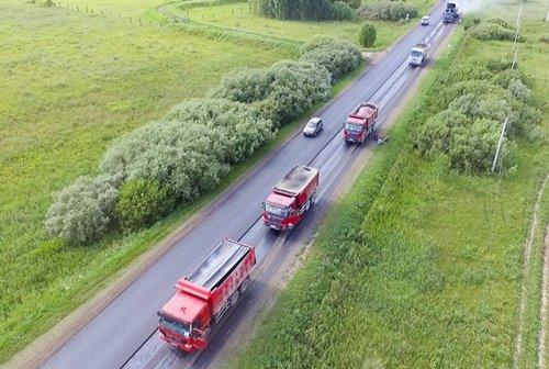 Восемь километров федеральной трассы отремонтируют на территории Республики Марий Эл
