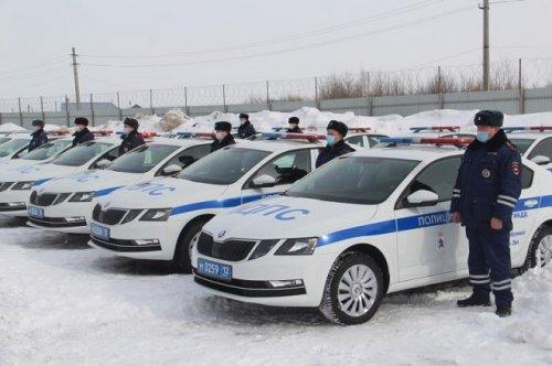 У сотрудников Госавтоинспекции  Марий Эл появились новые служебные автомобили