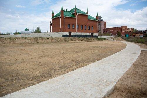 На берегу Малой Кокшаги можно будет заниматься физической культурой и спортом