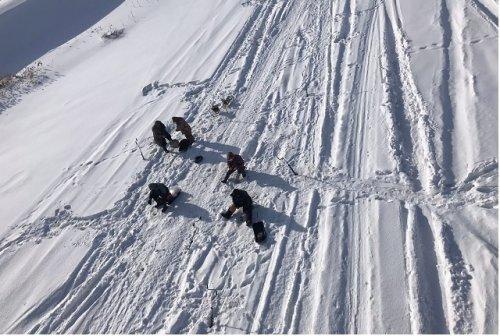 Спасатели предупреждают о том, что лёд на водоёмах в Марий Эл становится менее прочным