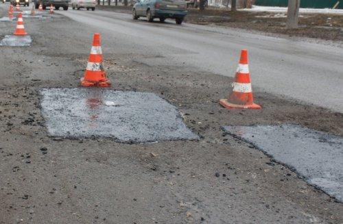 В городе Йошкар-Оле продолжают ремонт дорог с помощью литого асфальта