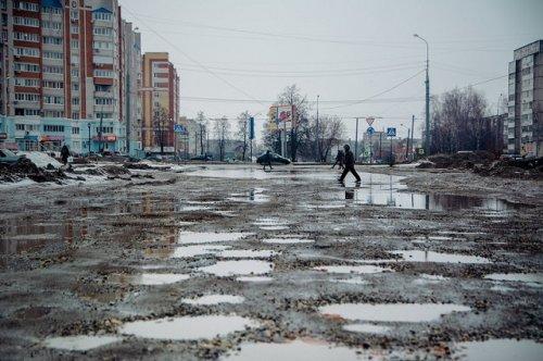 Городские власти перекрывают дорогу у торгового центра «Византия»