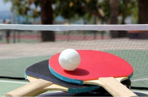 Юные жители Марий Эл тренируют координацию и ловкость, играя в настольный теннис