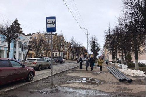Новые парковки и остановки появятся на улице Советской в городе Йошкар-Оле