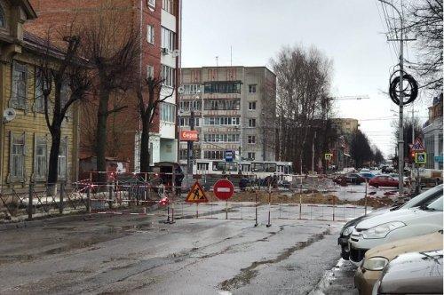 На улице Советской в Йошкар-Оле снова ограничивают движение транспорта