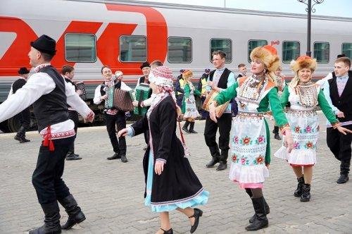 Вопрос о запуске турпоезда из Нижнего Новгорода в Йошкар-Олу и обратно находится в стадии проработки