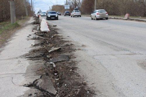 Дорожники начали ремонтные работы на проезжей части улицы Водопроводной