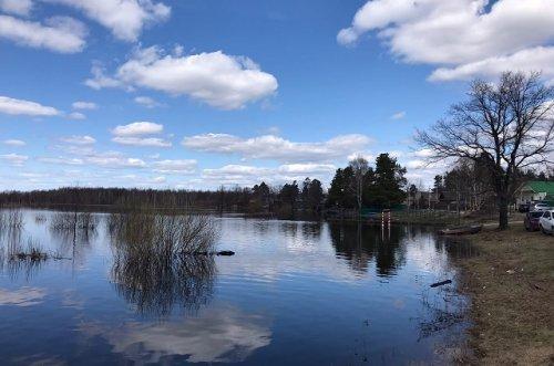 «Большая вода» не даёт дачникам из Кокшайска начать полноценный сезон в начале мая
