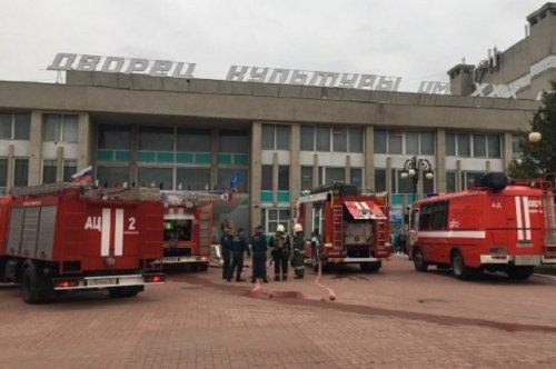 Возгоранием в ДК имени ХХХ-летия Победы в  Йошкар-Оле заинтересовались следственные органы
