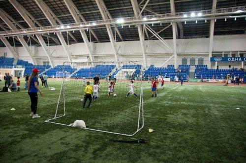 Юные футболисты будут тренироваться с помощью системы GPS-мониторинга