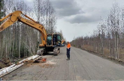 Дорогу от Килемар до границы с Кировской областью отремонтируют к середине октября