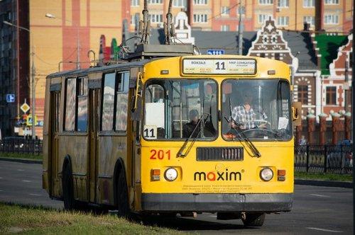 Схема движения троллейбусов изменится в связи с проведением праздничных мероприятий