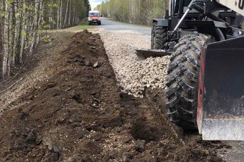 Дорогу до Юрино начали приводить в нормативное состояние уже в этом году