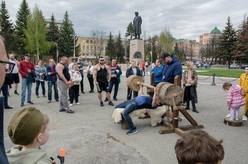 Турнир «Богатырские забавы» стал трамплином для участия в фестивале «Великий Болгар»