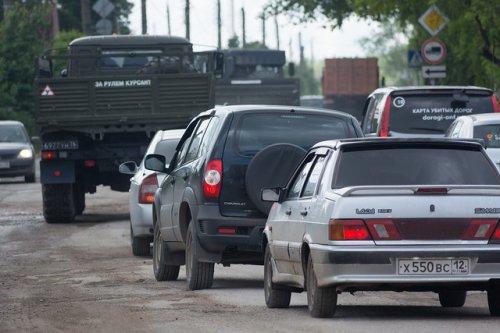 В среду рано утром будут перекрыты две дороги на территории Республики Марий Эл