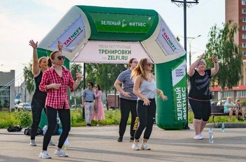 Сегодня в городе Йошкар-Оле стартует третий сезон проекта «Зелёный фитнес»