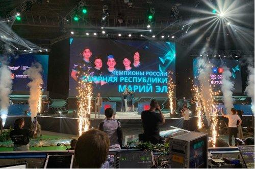 Сборная Марий Эл победила на чемпионате России по компьютерному спорту