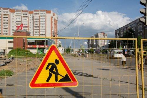 В Йошкар-Оле продолжаются перекрытия дорог, связанные с ремонтными работами