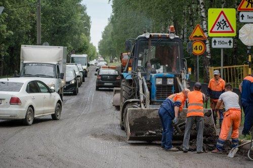 Скромный ремонт дороги на улице Медицинской в Йошкар-Оле