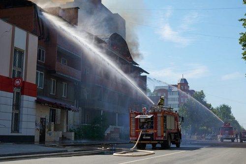 Специалисты ГУ МЧС России по Марий Эл устанавливают причину пожара на улице Пролетарской