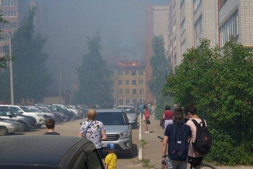 По факту пожара на улице Пролетарской следственный комитет возбудил уголовное дело