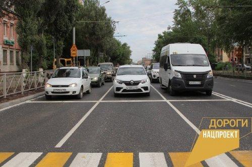 Автомобильная дорога по улице Суворова официально введена в эксплуатацию после ремонта