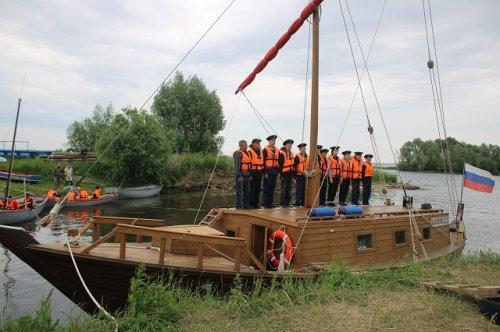 Юнги из парусного клуба «Паллада» совершили очередной учебный водный поход