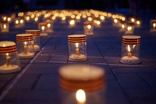 В Йошкар-Оле в память о начале Великой Отечественной войны прошла акция «Свеча памяти»
