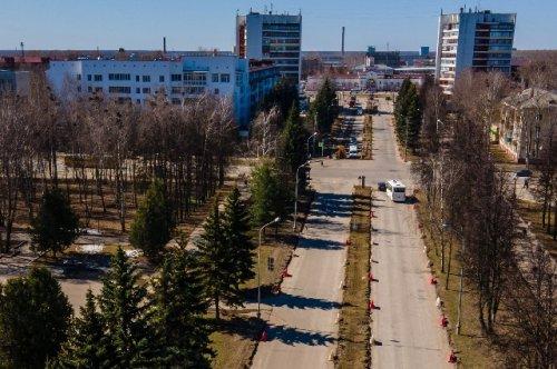 На улице Советской в Йошкар-Оле остаётся только сделать разметку и установить дорожные знаки