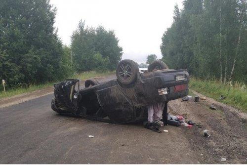 Заяц, внезапно появившийся на автодороге, стал причиной ДТП в Юринском районе