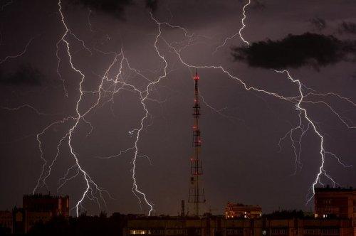 Синоптики прогнозируют на территории Марий Эл грозы, ливни, град и порывистый ветер