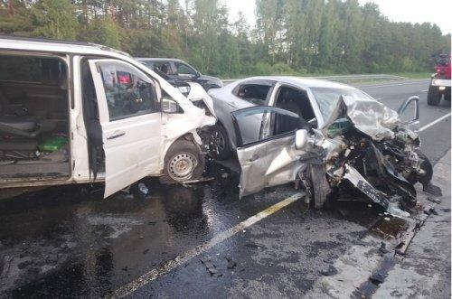 Три жителя Республики Татарстан погибли в результате ДТП на Казанском тракте в Марий Эл