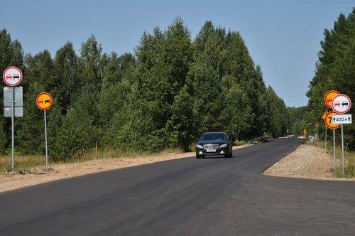 Автодорогу Марьино – Юрино в Марий Эл полностью отремонтируют за два года