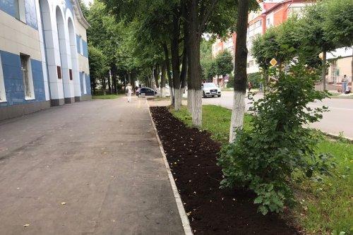 Работы по благоустройству пешеходной зоны по улице Пролетарской выходят на финишную прямую