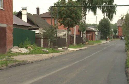 В Йошкар-Оле заасфальтировали дорогу, которая ведёт к садоводческому товариществу «Коммунальник»
