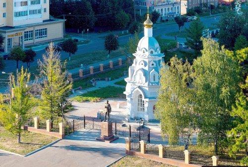 В часовне, которая расположена около русского театра драмы, возобновились богослужения